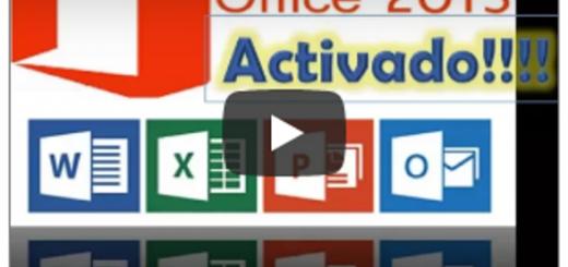 Activar Office 2013 sin programas
